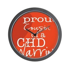 proud cousin copy Wall Clock