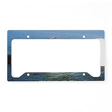boise framed panel print License Plate Holder