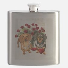 tig lil hearts 16x16 copy Flask