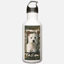 Stone_Paws_West_Highla Water Bottle