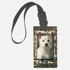 Stone_Paws_West_Highland_Terrier Luggage Tag