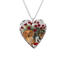 tig lil hearts 16x12 Necklace
