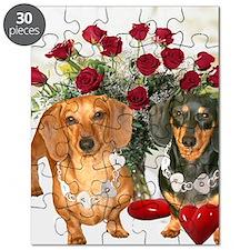 tig lil hearts 16x12 Puzzle