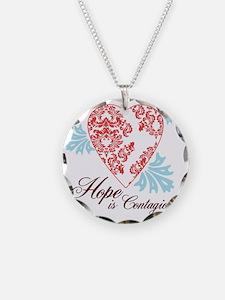 hope contageous copy Necklace