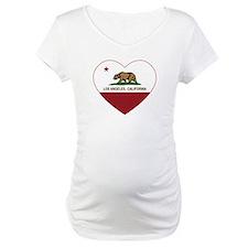 california flag los angeles heart Shirt