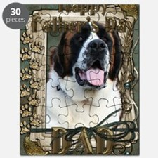 Stone_Paws_St_Bernard_Mae_Dad Puzzle