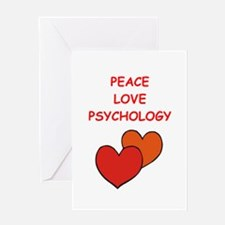 psychology Greeting Cards