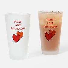 psychology Drinking Glass