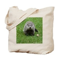 GrHog7.5x9.5 Tote Bag
