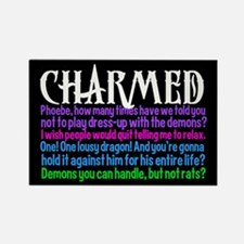 Charmed Quotes Rectangle Magnet