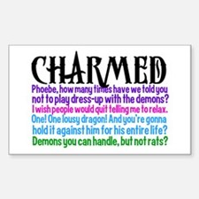Charmed Quotes Sticker (Rectangle)