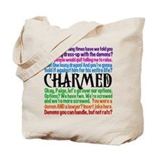 Charmed Quotes Tote Bag