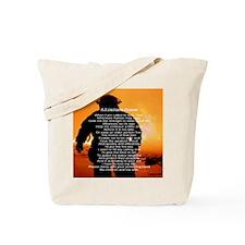 FIREMANS PRAYER Tote Bag