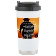 FIREMANS PRAYER Travel Mug