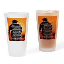 FIREMANS PRAYER Drinking Glass