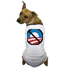 Obama Logo Crossed 5000px 0f Dog T-Shirt
