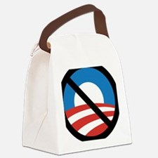 Obama Logo Crossed 5000px 0f Canvas Lunch Bag
