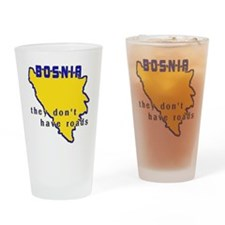 bosniaroads Drinking Glass