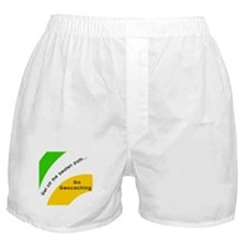 Geocaching Off the Path Boxer Shorts