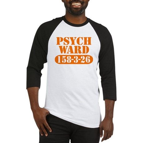 Psych Ward - Orange Baseball Jersey