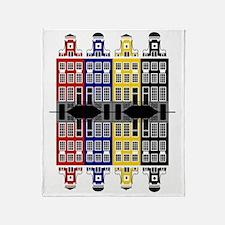 Amsterdam Architecture - Merchants h Throw Blanket