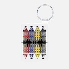 Amsterdam Architecture - M Keychains