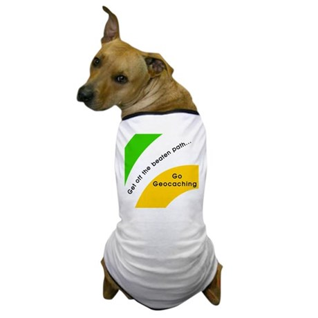Geocaching Off the Path Dog T-Shirt