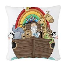 ark_2 Woven Throw Pillow