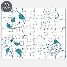 logo_shirt_05_all_blue Puzzle