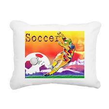 Mouse Pad Soccer-day-gam Rectangular Canvas Pillow