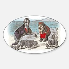 3-ALICE _Through the Looking Glass_ Sticker (Oval)
