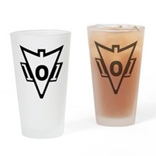 101st RECONDO Drinking Glass