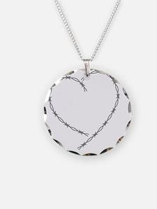 ValentinesBarbedWire Necklace