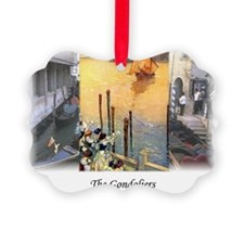 gondoliers2 Ornament