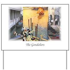 gondoliers2 Yard Sign