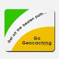 Geocaching Off the Path Mousepad