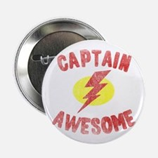 "Captain Awesome 2.25"" Button"