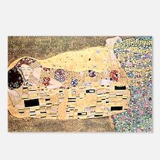 The_Kiss_Gustav_Klimt_rec Postcards (Package of 8)
