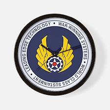 Air Force Material Cmd Wall Clock