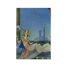 scheherazade notecard Rectangle Magnet