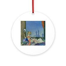 scheherazade notecard Round Ornament