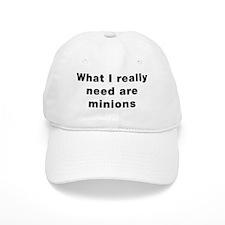 whatireallyneedareminionsBlkTxt Cap