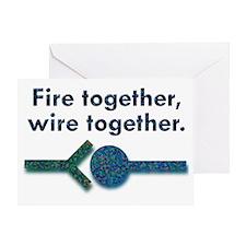 wiretw Greeting Card