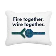 wiretw Rectangular Canvas Pillow