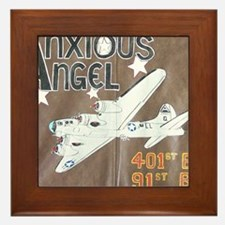 Anxious Angel Framed Tile