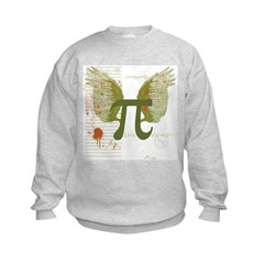 Winged Pi Kids Sweatshirt