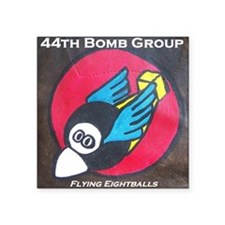 "44th Bomb Group - Flying Ei Square Sticker 3"" x 3"""