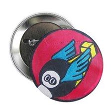 """44th Bomb Group - Flying Eightballs 2.25"""" Button"""