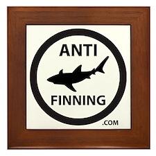 Bull Shark (Tighter) - Anti-Shark Finn Framed Tile