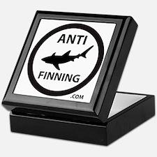 Bull Shark (Tighter) - Anti-Shark Fin Keepsake Box